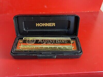 $49.99 • Buy Marine Band Gold Harmonica (C) Limited Edition (1896-1996) By M. Hohner Case C