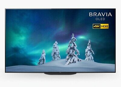 £699.99 • Buy Sony Bravia KD55AG9 55  SMART 4K UHD HDR OLED Android TV C Grade No Stand
