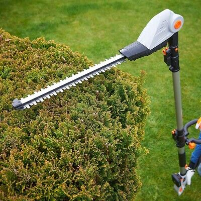 £119.89 • Buy Cordless Pole Hedge Trimmer Cutter 20V Trees Branches Extendable Long Reach New