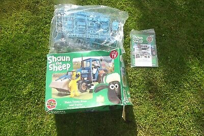 £18.99 • Buy Airfix 1/12 Shaun The Sheep, Timmy Bitzer And Tractor Model Kit