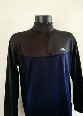£29.99 • Buy 'north Face' Base Layer 1/4 Zip Top. 'flight Series' Large Blue/grey. Outdoor