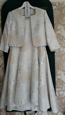 £22 • Buy Lizabella Dress And Jacket. Immaculate Worn Once. SIZE 12 Will Fit Size 14