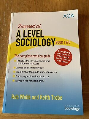 £7 • Buy A Level Sociology Book Two Revision Guide AQA
