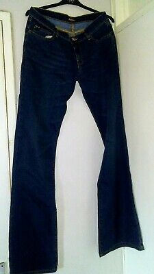 £29.99 • Buy Lovely Killah By Miss Sixty Low Waist Boot Flare Blue Jeans. Size 32 L34 Sz 12