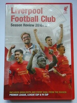 £14.99 • Buy Liverpool FC Season Review DVD 2016/2017 New NOT Sealed
