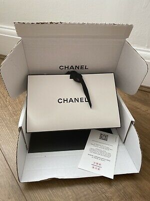£10 • Buy Chanel Empty Gift Bag With Ribbon Tie Chanel Envelope And Parcel Box