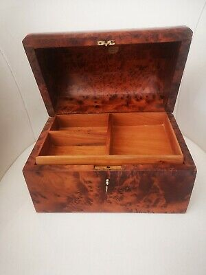 £16 • Buy Moroccan Wooden Jewellery Box With Lock