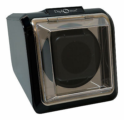 $ CDN49.74 • Buy Diplomat Square Watch Winder Automatic Case Box Storage Timer