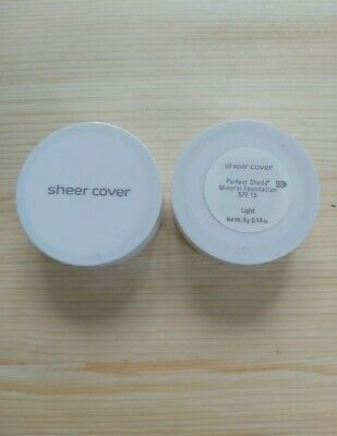 £35 • Buy Sheercover Perfect Shade Mineral Foundation SPF15 - Light 4g