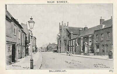 £19.99 • Buy Billericay High Street 183 - Publisher  Fred Spalding Chelmsford Not Used 1906 ?