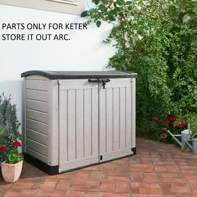£69.99 • Buy Replacement Parts For Keter Store It Out Arc Plastic Garden Storage Box - Parts