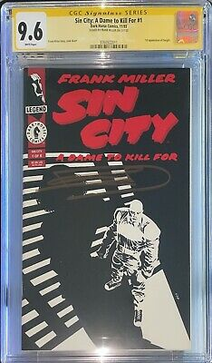 £20.53 • Buy Sin City: A Dame To Kill For #1 CGC SS 9.6 Signed By Frank Miller