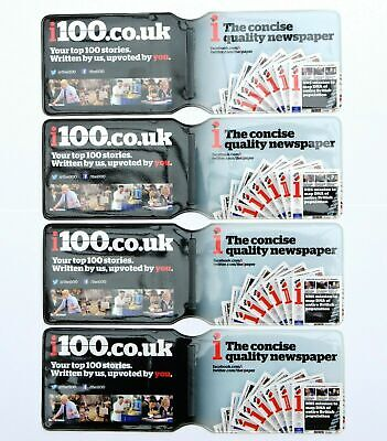 £7.40 • Buy 4 X LONDON UNDERGROUND OYSTER CARD TRAIN TICKET BUS PASS WALLETS HOLDERS COVERS