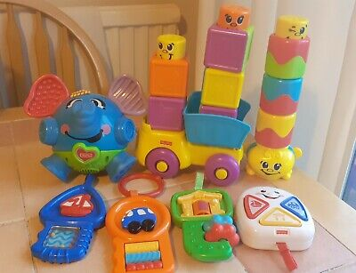 £10.50 • Buy Fisher Price Mattel Toy Bundle - Fun Interactive Toys Good Condition