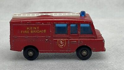 £7.07 • Buy  Matchbox  Series No.57 Land Rover Fire Truck Made In England By Lesney