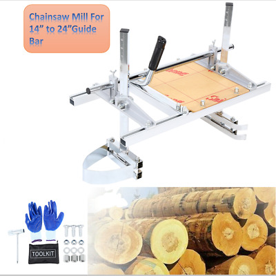 £75.99 • Buy 24  Chainsaw Mill Chainsaw Milling Attachment Planking Lumber  Guide Ripping