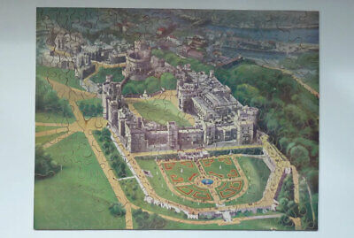 £45 • Buy GWR Railway Jigsaw Puzzle Windsor Castle From The Air Complete Chad Valley Good