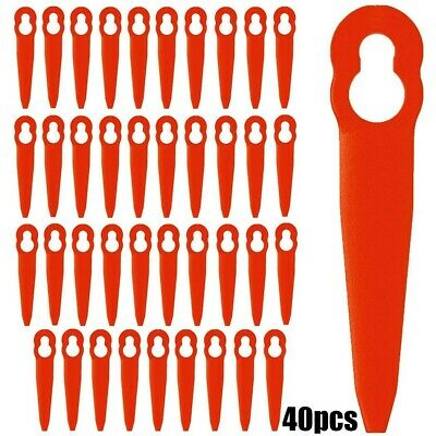 £8.36 • Buy 40 Pcs Grass Trimmer Plastic Blade Replace For STIHL FSA45 Cordless Strimmer -UK