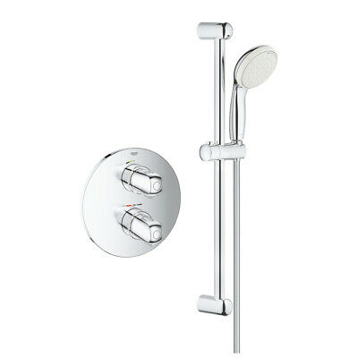 £119.99 • Buy Grohe Grohtherm 1000 Modern Concealed Thermostatic Shower Set 34575001