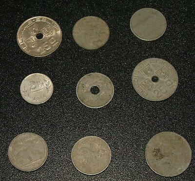 £2 • Buy 9 Old Foreign Coins