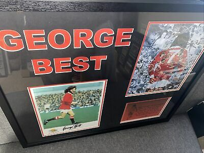 £200 • Buy George Best Hand Signed Picture Montage