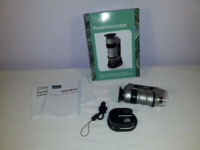£12 • Buy Boxed Natural History Museum Pocket Microscope