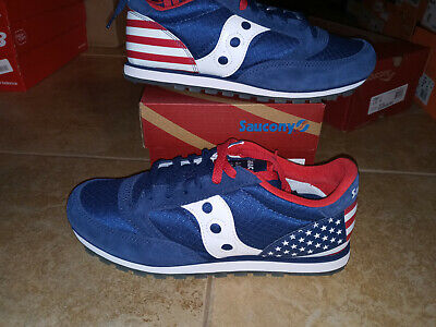 £31.86 • Buy NEW Mens Saucony Jazz Low Pro Uncle Sam Shoes, Size 8