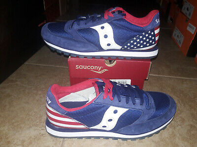 £32.59 • Buy NEW Mens Saucony Jazz Low Pro Uncle Sam Shoes, Size 8.5