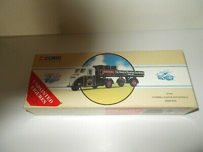 £10.99 • Buy Corgi Scammell Scarab Websters Brewery Set Ltd Edition Mint & Boxed