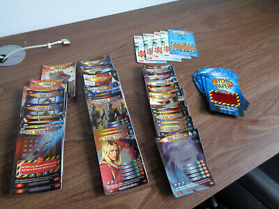 £8.99 • Buy Dr Who Battles In Time 73 Rare Trading Cards, 5 Bonus,24 Psychic Paper
