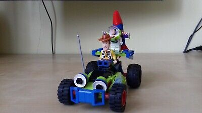 £14 • Buy LEGO 7590 Toy Story Woody & Buzz To The Rescue Motor Action Complete No Box