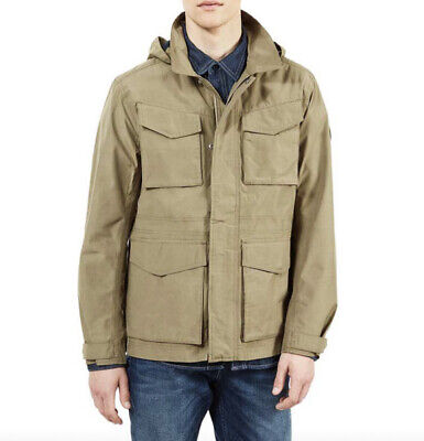 $255.41 • Buy Timberland Mens DryVent Doubletop Jacket Mountain M65 Khak Green Size M RRP £265