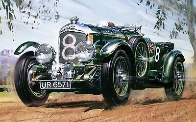 £99.99 • Buy New Release Airfix 1:12th Scale 1930 Bentley 4.5 Litre Supercharged Model Kit.