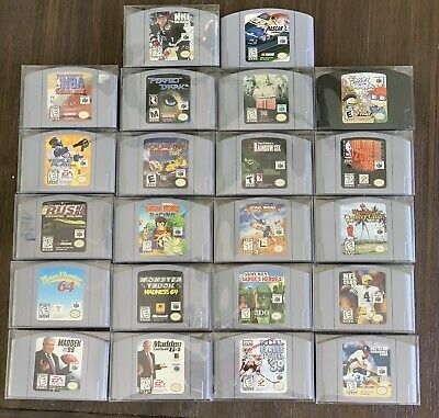 $ CDN54.65 • Buy Nintendo 64 -N64 Game Lot (22) - Authentic/Tested - Diddy Kong M - Retro Video🔥