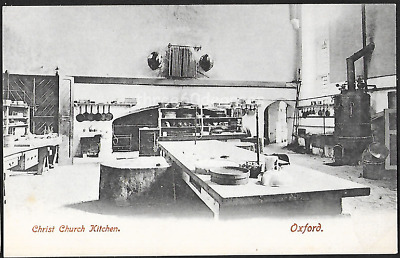 £2.75 • Buy Early Postcard: Oxford. Christ Church College Kitchen Interior