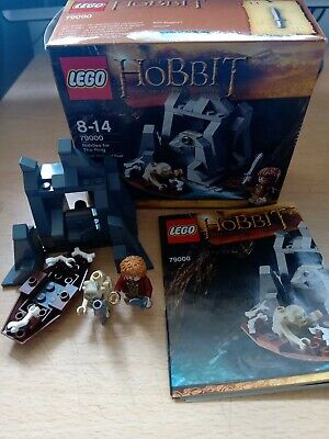 £24 • Buy LEGO 79000 The Hobbit Riddles For The Ring - Complete Set In Box Gollum + Bilbo