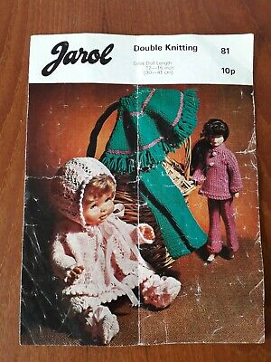 £3 • Buy Vintage Dolls Clothes Knitting Patterns