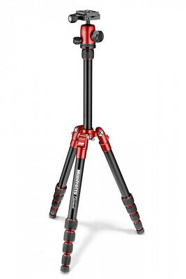 £65 • Buy Manfrotto Element Traveller Ball Head Tripod Red