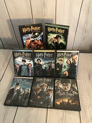 $ CDN14.60 • Buy Harry Potter Complete 8 Dvd Collection! (Not A Boxed Set) Excellent Condition!