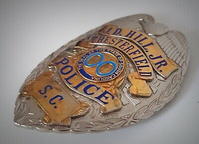 £18.99 • Buy Obsolate Historical Usa Police Badge ... Chesterfield / South Carolina