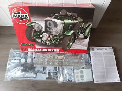 £51 • Buy Airfix A20440 1:12 Scale 4.5 Litre Bentley Sprues Still In Sealed Bags