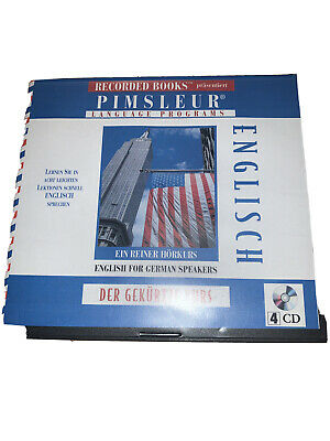 £9.99 • Buy English For German Speakers Audiobook By Pimsleur -4 CDs
