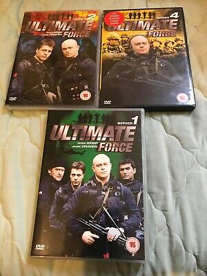 £0.99 • Buy Ultimate Force Series1,2 And 4- Ross Kemp
