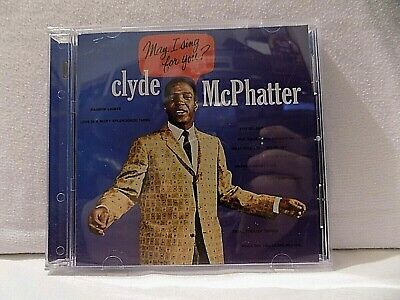 £2 • Buy CLYDE McPHATTER CD' - MAY I SING FOR YOU - 10' GREAT TRACK