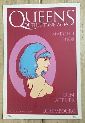 £25 • Buy Limited Edition Litho Queens Of The Stone Age John Seabury
