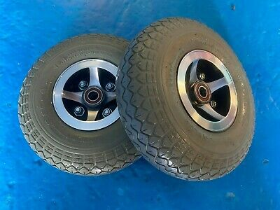 £65 • Buy Mobility Scooter CTM Vigor Wheels Front Wheels SOLID Tyres