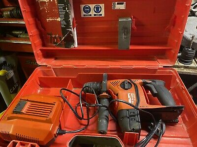 £170 • Buy Hilti TE 6-A36 AVR SDS Cordless Hammer Drill Fast Charger & Case.   2081