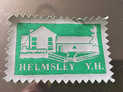 £5 • Buy Helmsley Youth Hostel Sew On Patch Badge YHA Camping Outdoors North Yorkshire