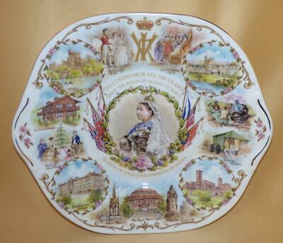 £10 • Buy Aynsley Commemorative 100 Years Since The Reign Of Queen Victoria Plate 2001