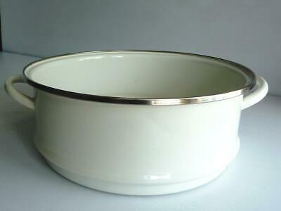 £37.99 • Buy Le Creuset White Enamel Steamer To Use With Cast Iron Round Casserole 24cm.